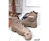 Ботинки демисезон бежевые, фото 6
