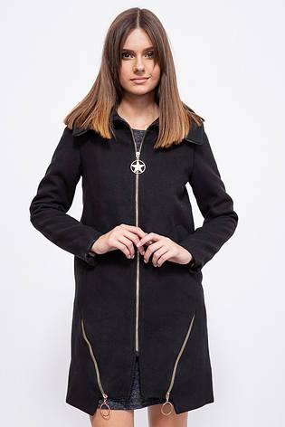 Пальто женское 153R970 цвет Черный, фото 2