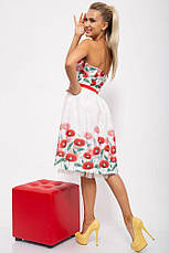 Платье женское 131R2770-2 цвет Бело-красный, фото 2