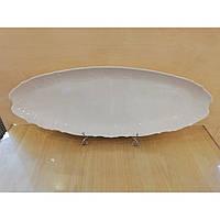 Блюдо рибне 65см Bernadotte (без декору), 0011000, Concordia-Lesov \ Чехія