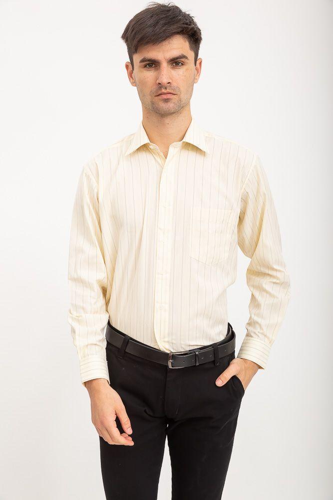 Рубашка Zeg №818-10 цвет Слоновая кость