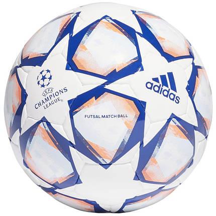 Мяч футзальный Adidas Finale 20 Pro Sala FS0255 Белый, фото 2