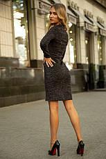 Платье 153R1082 цвет Темно-серый, фото 2