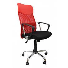 Кресло офисное Bonro Manager красное