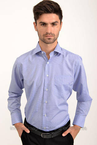 Рубашка 9021-31 цвет Сине-белый, клетка, фото 2