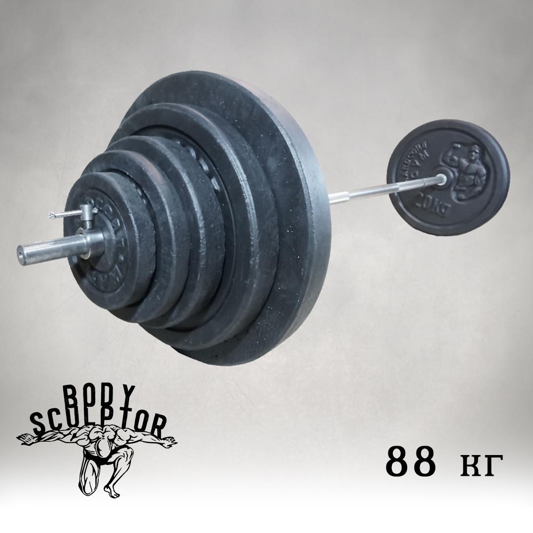 Штанга 1,8 м   88 кг