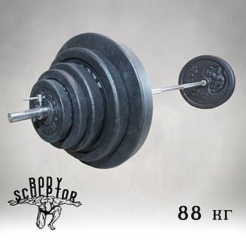 Штанга 1,8 м | 88 кг