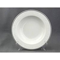 8034800 Блюдо кругле глибоке 30см Opal сірий