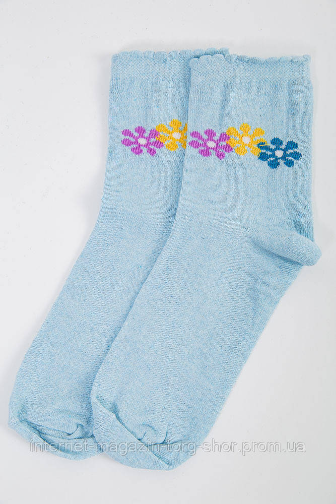 Носки женские 151R017 цвет Голубой