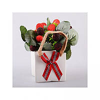 Квіти штучні в кашпо 70-309