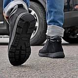 Зимние мужские ботинки Camel на меху черные, фото 4
