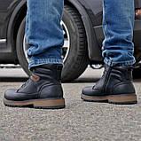 Зимние мужские ботинки Camel на меху черные., фото 4