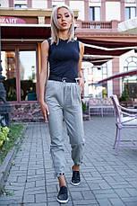 Брюки женские 149R9307-5 цвет Серый, фото 2