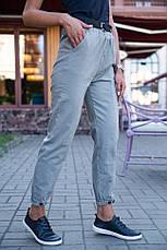 Брюки женские 149R9307-5 цвет Серый, фото 3