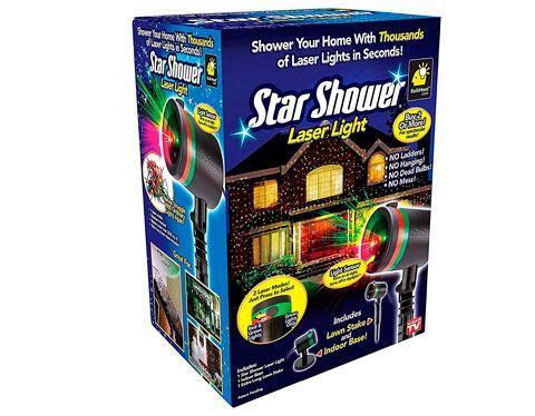 Уличный новогодний лазерный проектор Star Shower