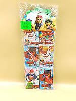 Набор героев Brawl Stars | Игровой набор карточки к игре Brawl Stars Бравл Старс | Карточки Бравл Стар 8 штук