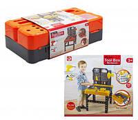 Набор инструментов со столиком, набор инструментов детских,игрушки для мальчиков,игровые наборы
