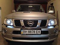 """НАШИ РАБОТЫ: Установка биксеноновых линз Koito Q5 3.0"""" в Nissan Patrol"""