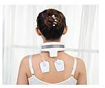 Электрический массажер для расслабления та облегчения боли мышц шеи и плеч, фото 6