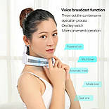 Электрический массажер для расслабления та облегчения боли мышц шеи и плеч, фото 5