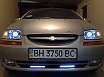 """НАШИ РАБОТЫ: Установка биксеноновых линз Koito Q5 3.0"""" в Chevrolet Aveo"""