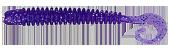 Съедобный силикон Kalipso Frizzle Curly Tail 2,5 дюйма цвет 205
