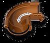Водосточная система круглая  ПВХ Galeco PVC 110 / 80 с универсальным регулируемым углом, фото 4