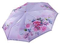 Зонт атласный с цветами Три Слона ( полный автомат ) арт. L3825-2, фото 1