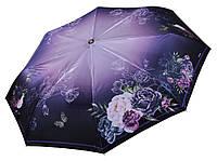 Зонт сатиновый с цветами Три Слона ( полный автомат ) арт. L3825-3, фото 1