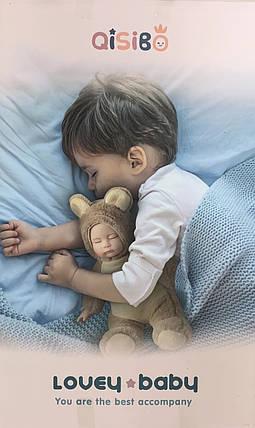 Пупс Зайчик спящий  ABC 33 см, фото 2
