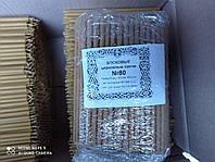Восковые свечи церковные №80 (200 шт/кг)
