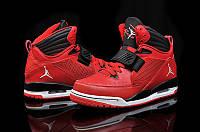 Мужские баскетбольные кроссовки Nike Air Jordan Flight 97  (найк аир джордан) красные