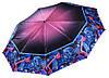 Сатиновый женский зонт Три Слона 9 СПИЦ ( полный автомат ) арт. L3990-1