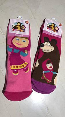 Дитячі шкарпетки дівчинка теплі Disney МАША і МИДВЕДЬ