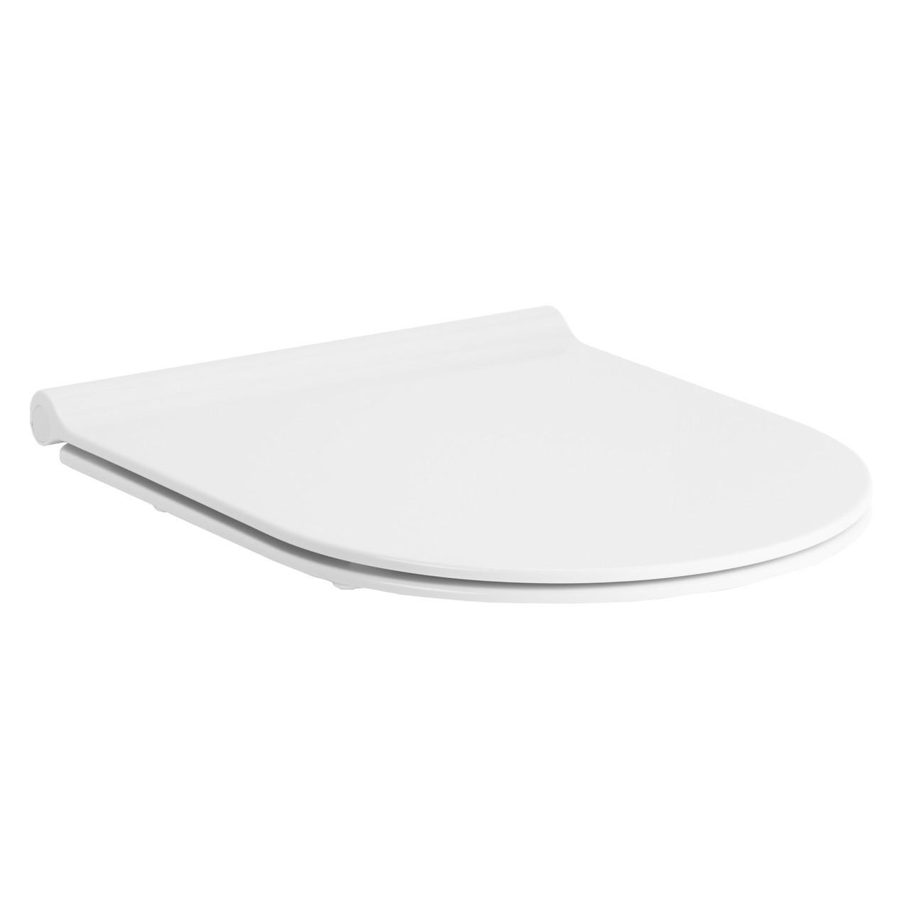 Сиденье для унитаза твердое slow-closing крепление метал Volle Nemo 13-17-095 белый