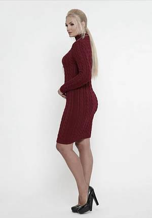 Вязаное платье зимнее, фото 2