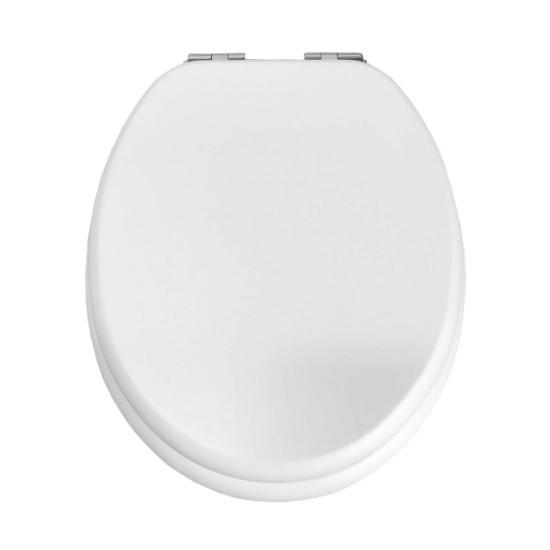 Сиденье для унитаза твердое Slim slow-closing Volle Don Grandes 13-33-332 белый