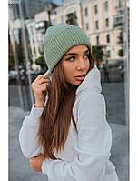 Женская шапка Staff light khaki