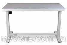 Регулируемый стол Barsky StandUp Memory white electric 2 motors glass 1200*600 BSU_el-06, фото 2