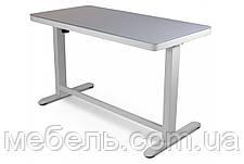 Регулируемый стол Barsky StandUp Memory white electric 2 motors glass 1200*600 BSU_el-06, фото 3