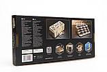 Механический 3D пазл «Кардхолдер для настольных игр» деревянный конструктор UGears, фото 9