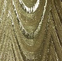 Вертикальные жалюзи ткань Металлик Ампир Золото