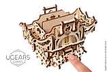 Механический 3D пазл «Дек Бокс» деревянный конструктор UGears, фото 2