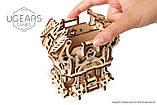 Механический 3D пазл «Дек Бокс» деревянный конструктор UGears, фото 3