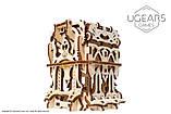 Механический 3D пазл «Дек Бокс» деревянный конструктор UGears, фото 9
