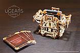 Механический 3D пазл «Дек Бокс» деревянный конструктор UGears, фото 4