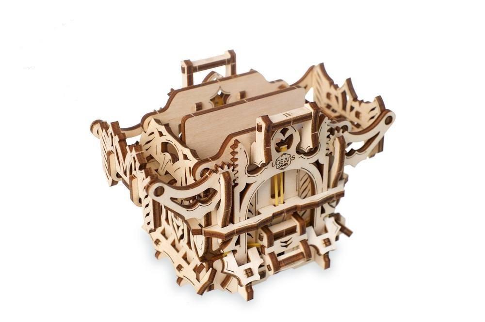 Механический 3D пазл «Дек Бокс» деревянный конструктор UGears