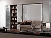 Двуспальная шкаф-кровать с диваном