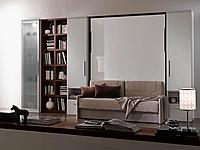 Двуспальная шкаф-кровать с диваном, фото 1