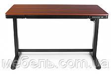 Регулируемый стол Barsky StandUp Memory white electric 2 motors wooden 1200*600 BSU_el-07, фото 3
